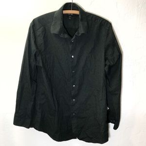 APT 9 Slim Fit Dress Shirt Size 17.5